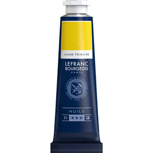 L&B FINE OIL 153 PRIMARY YELLOW 40ML ÖLJYVÄRI