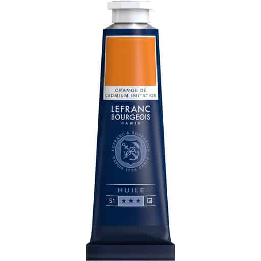 L&B FINE OIL 797 CADMIUM ORANGE HUE 40ML