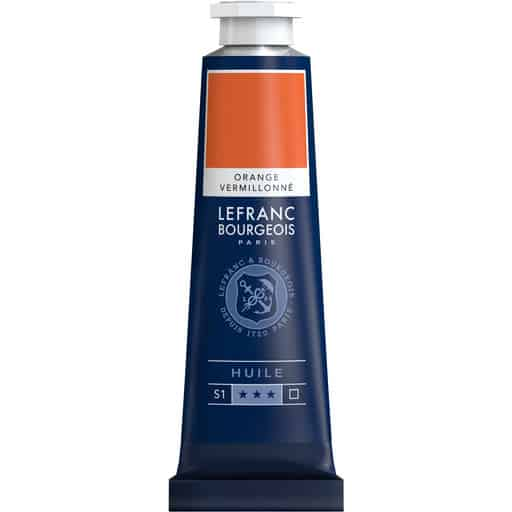L&B FINE OIL 697 VERMILLION ORANGE 40ML ÖLJYVÄRI