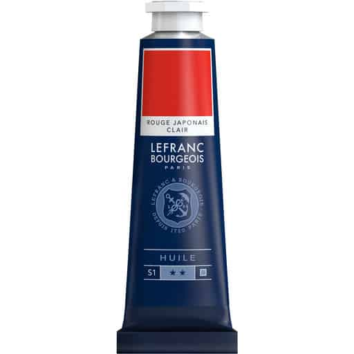 L&B FINE OIL 379 JAPANESE RED LIGHT 40ML ÖLJYVÄRI