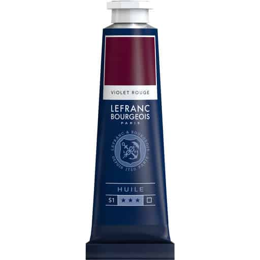 L&B FINE OIL 618 RED VIOLET 40ML ÖLJYVÄRI