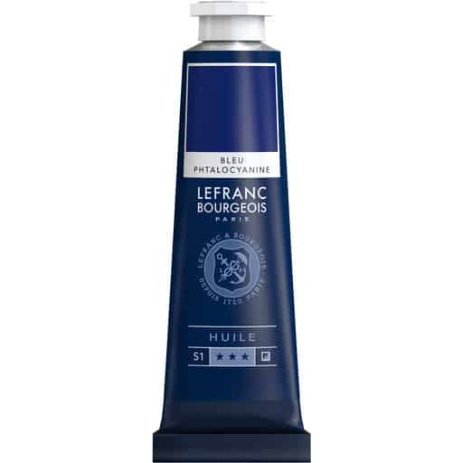 L&B FINE OIL 095 PHTHALO BLUE 40ML ÖLJYVÄRI