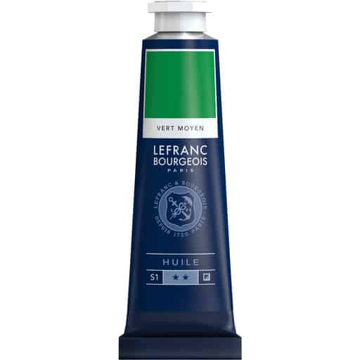 L&B FINE OIL 561 MEDIUM GREEN 40ML ÖLJYVÄRI