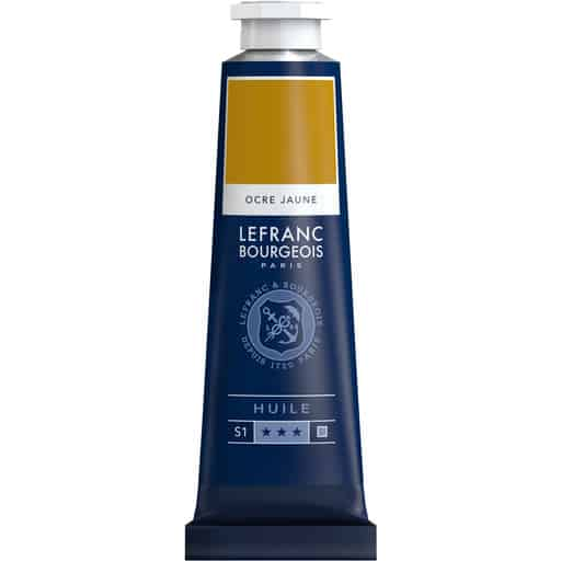 L&B FINE OIL 302 YELLOW OCHRE 40ML ÖLJYVÄRI