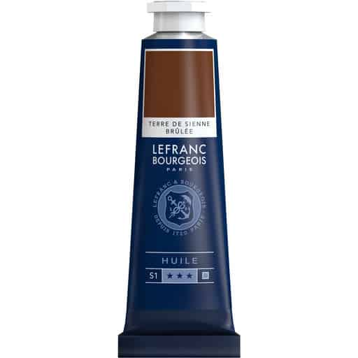L&B FINE OIL 481 BURNT SIENNA 40ML ÖLJYVÄRI