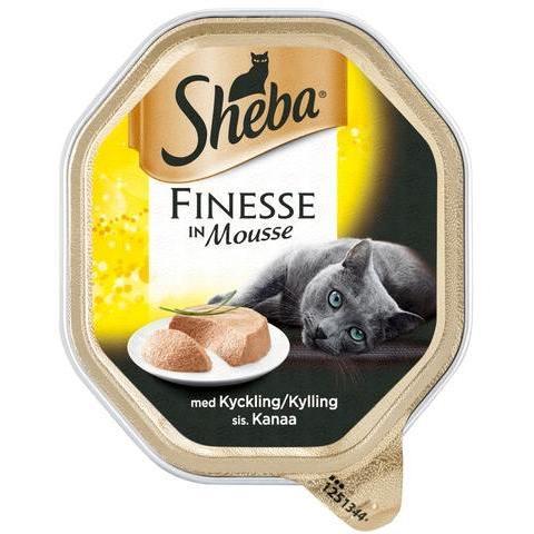 SHEBA FINESSE MOUSSE KANA 85G