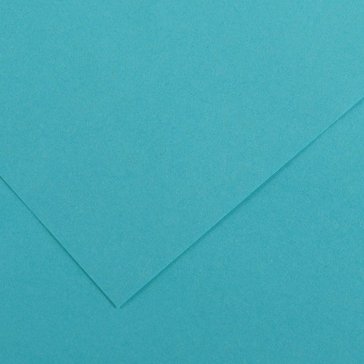 VÄRIKARTONKI TURQUOISE BLUE 240G 50x65CM
