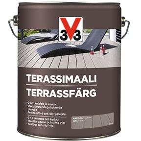 V33 TERASSIMAALI HARMAARUSKEA 5L