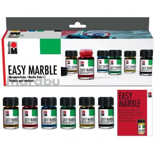MARABU EASY MARBLE STARTER SETTI 6x15ML
