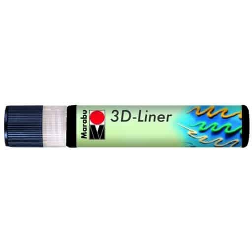 MARABU 3D-LINER 673 MUSTA 25ML