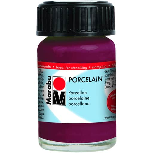 MARABU POSLIINIVÄRI 223 BLACKBERRY 15ML