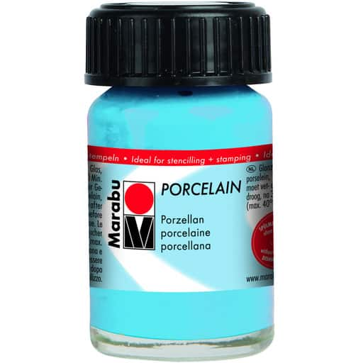 MARABU POSLIINIVÄRI 090 LIGHT BLUE 15ML