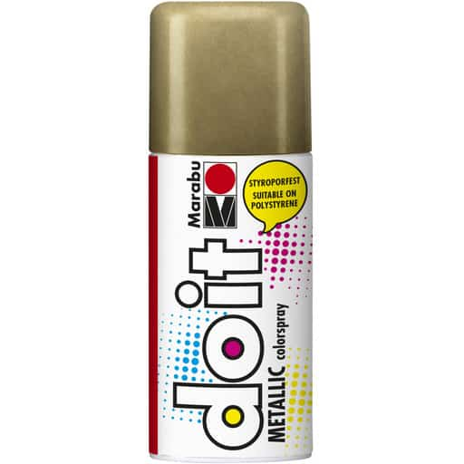 MARABU DO IT SPRAY METALLIC 784 KULTA 150ML