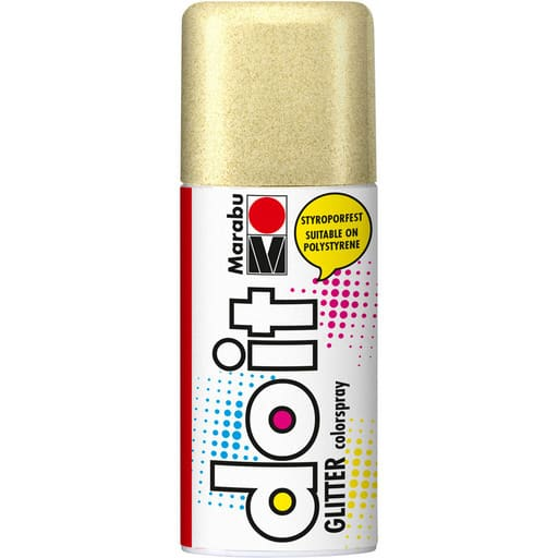 MARABU DO IT SPRAY GLITTER 584 KULTA 150ML