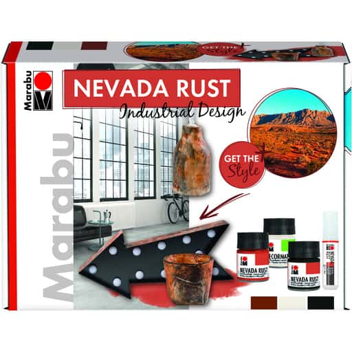 MARABU NEVADA RUST RUOSTE-EFEKTI 3x50ML