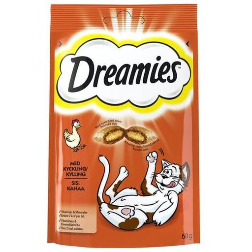 DREAMIES KANA MAKUPALA 60G