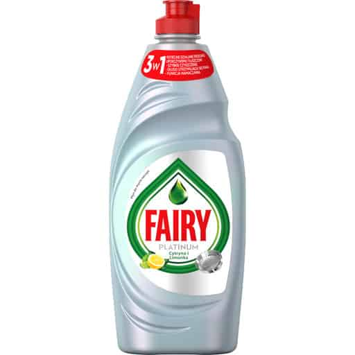 FAIRY PLATINUM 650ML SITRUUNA/LEMON