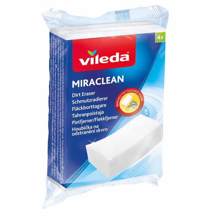 VILEDA MIRACLEAN TAHRANPOISTAJA 4KPL