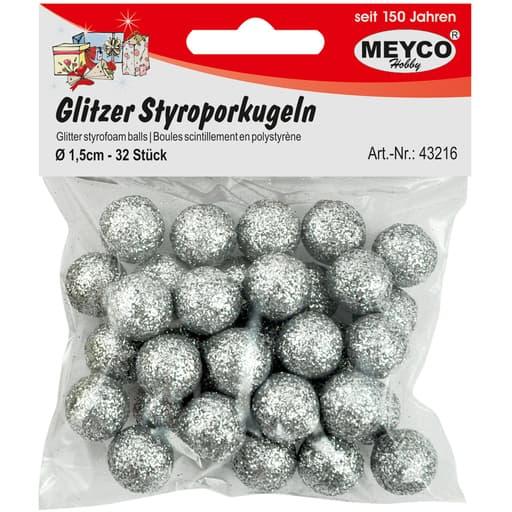 MEYCO GLITTER STYROKSIPALLOT HOPEA 1