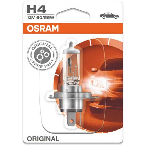 OSRAM AUTOHALOGEENI H4 60/55W 12V