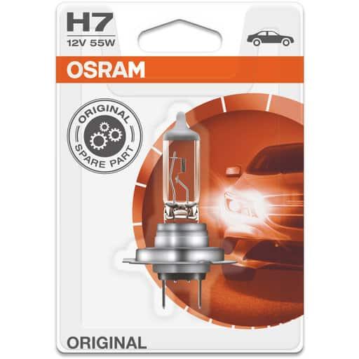 OSRAM AUTOHALOGEENI H7 55W 12V