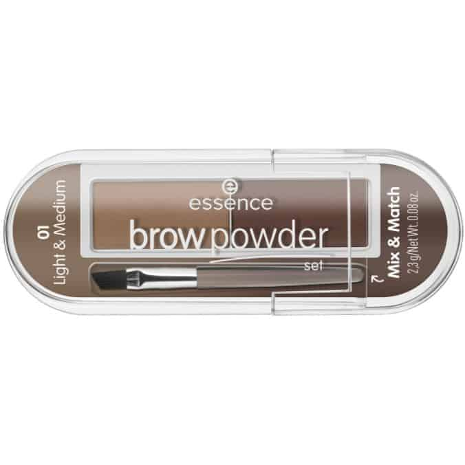 ESSENCE BROW POWDER SET 01