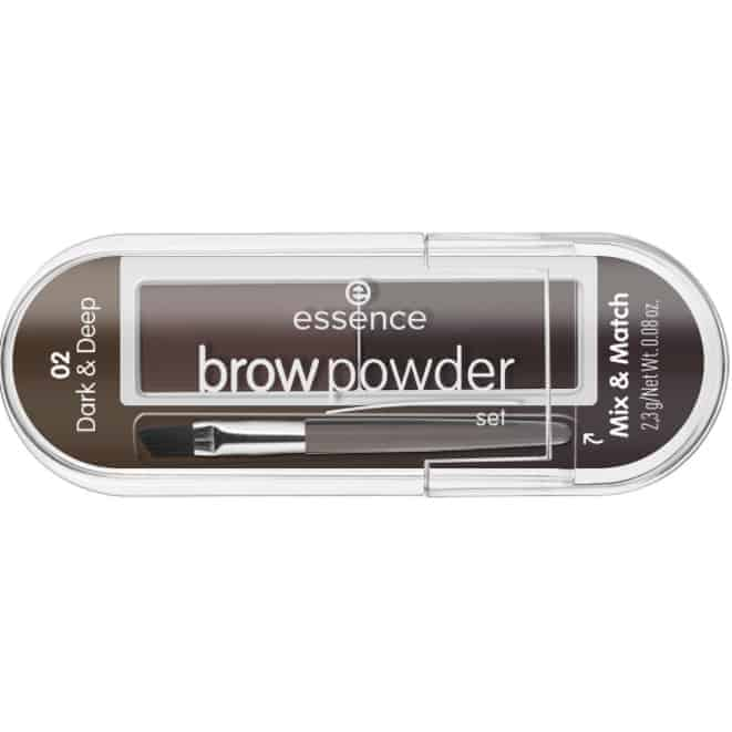 ESSENCE BROW POWDER SET 02