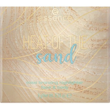 ESSENCE HEAT OF THE SAND BRONZING HIGHLIGHTER FACE & BODY 010