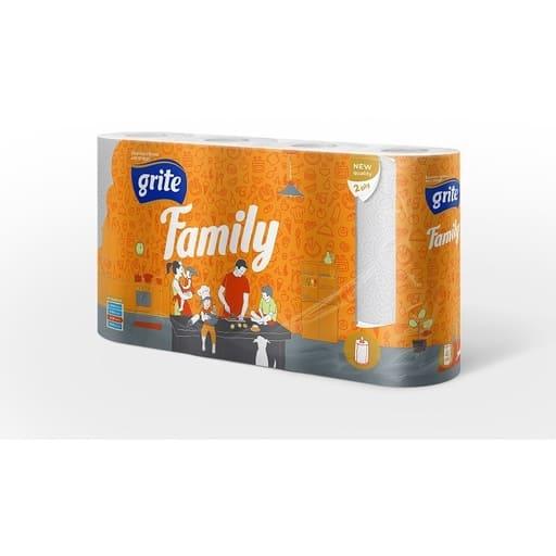 GRITE FAMILY TALOUSPAPERI 4RLL