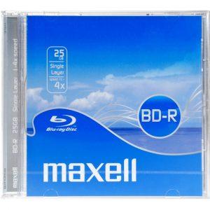 MAXELL BLU-RAY LEVY BD-R 4x 25GB