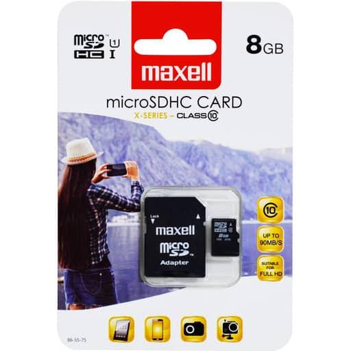 MAXELL MICRO SDHC 8GB MUISTIKORTTI