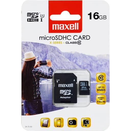 MAXELL MICRO SDHC 16GB MUISTIKORTTI