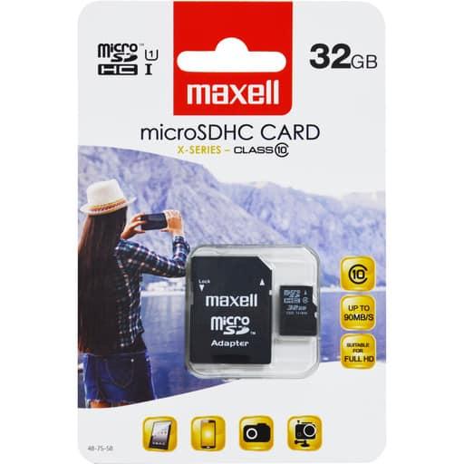MAXELL MICRO SDHC 32GB MUISTIKORTTI