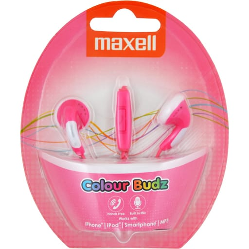 MAXELL COLOR BUDZ PINKKI