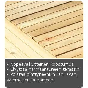RONSEAL TERASSIN PUHDISTAJA JA ELVYTTÄJÄ 5L