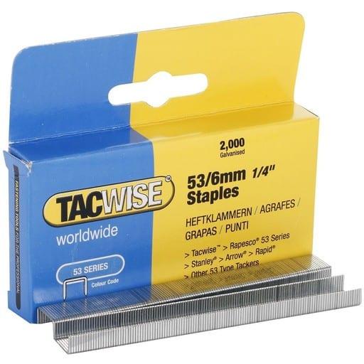 TACWISE NIITTIRASIA 53/6MM 2000KPL