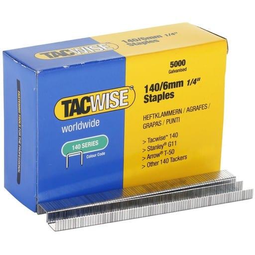 TACWISE NIITTIRASIA 140/6MM 5000KPL
