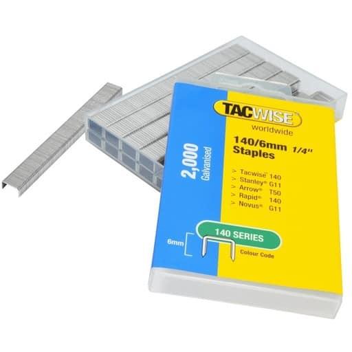 TACWISE NIITTIRASIA 140/6MM 2000KPL