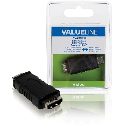VALUELINE HDMI ADAPTERI HDMI MINI UROS - HDMI NAARAS