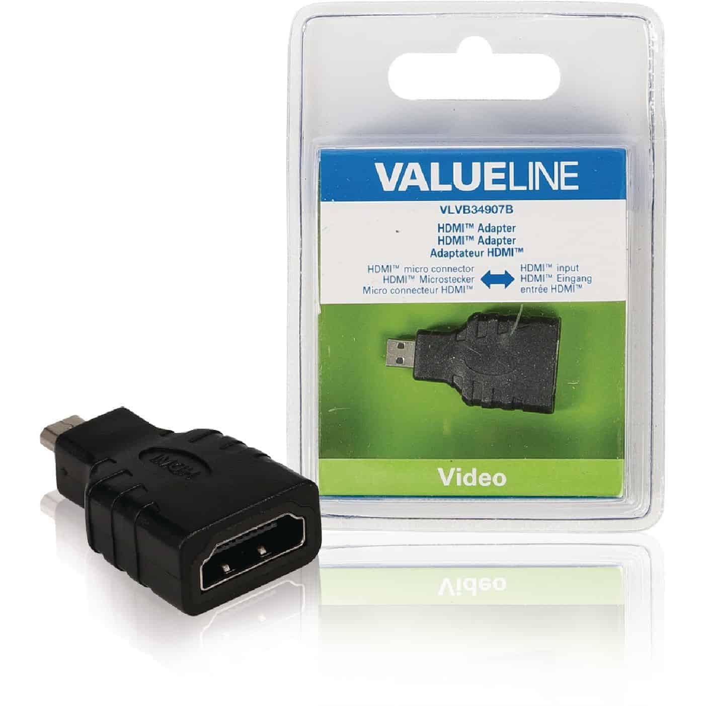 HDMI ADAPTERI HDMI MICRO UROS - HDMI A NAARAS
