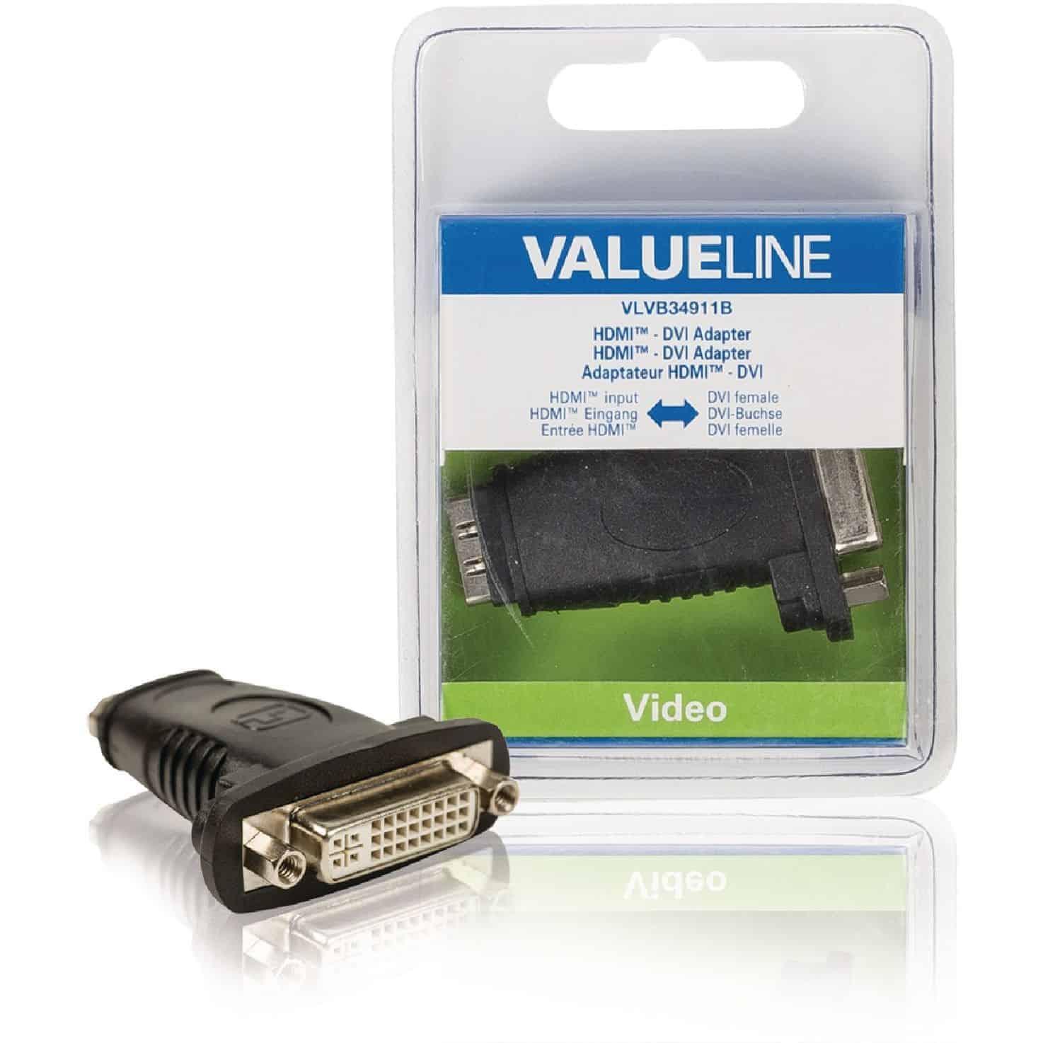 HDMI ADAPTERI HDMI NAARAS - DVI NAARAS