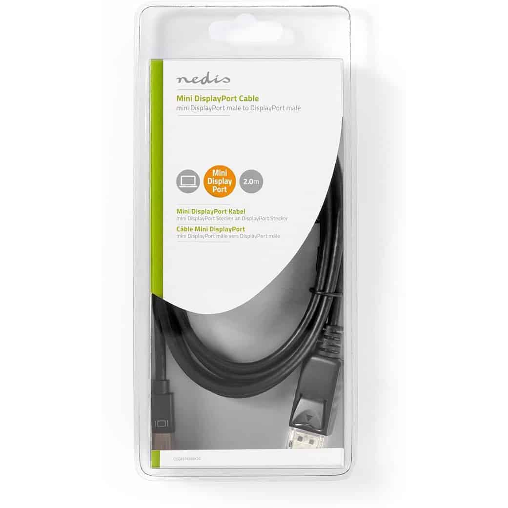 NEDIS MINI DISPLAYPORT UROS - DISPLAYPORT UROS 2.00M