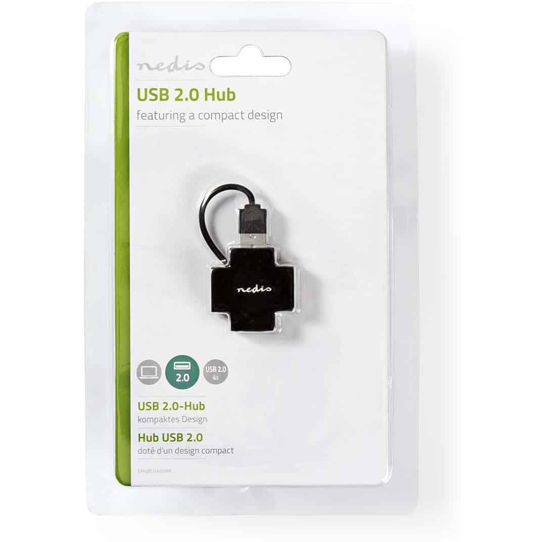 NEDIS USB-JAKAJA 4-PORTTIA