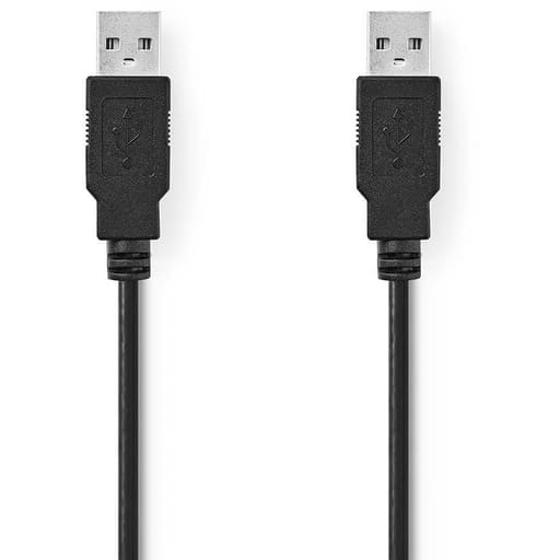 NEDIS USB 2.0 KAAPELI A-UROS - A-UROS 2M