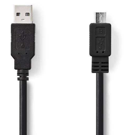 NEDIS USB 2.0 KAAPELI A UROS - USB MICRO B 2