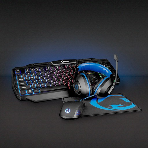 NEDIS GAMING COMBO KIT 4-IN-1 PELISETTI