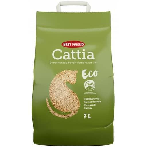 BF CATTIA ECO PUUKUITUHIEKKA 7L  Säästötalo Latvala