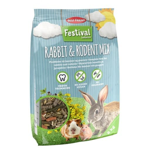 BF FESTIVAL BALANCE RABBIT AND RODENT MIX 2KG