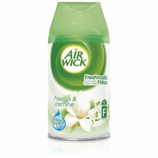 AIRWICK FRESMATIC MAX TÄYTTÖ FREESIA & JASMINE 250ML