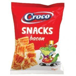 CROCO SNACKS BACON 25G| Säästötalo Latvala